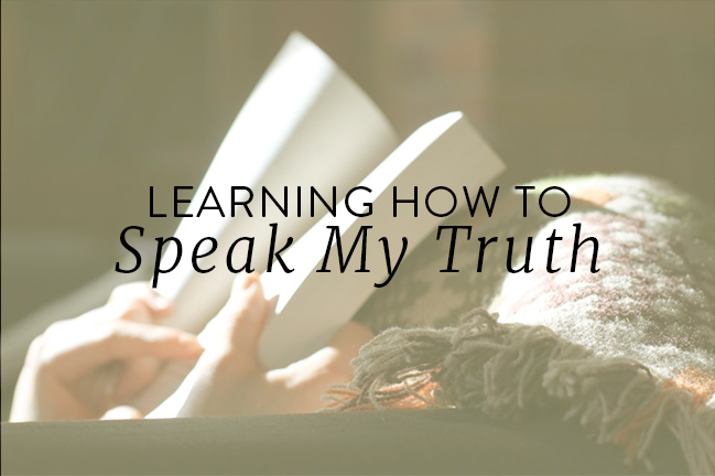 learning-how-to-speak-my-truth